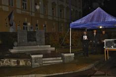 Lampionový průvod a ohňostroj k 100. výročí vyhlášení samostatného Čekoslovenského státu