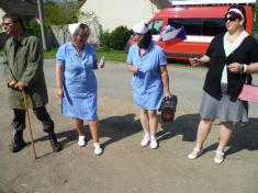 Oslava 1.máje v Dolní Lhotě - retroakce