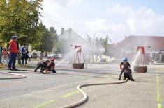 Soutěž v netradičním požárním útoku a štafetě 2018