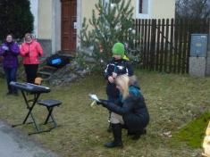 Zpívání u stromku v Dolní Lhotě 2018